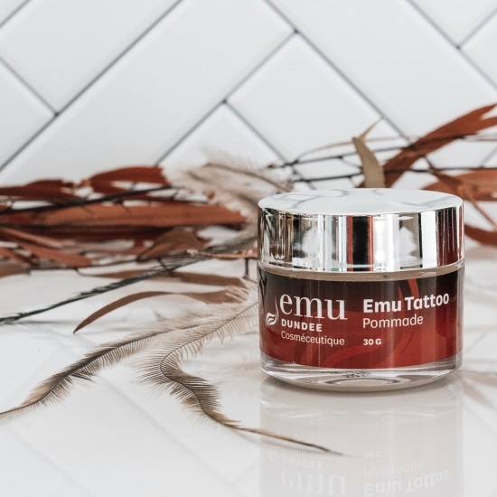 Emu Tattoo Ointment   Heals, moisturizes and protects colors