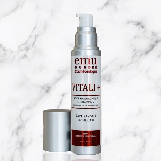 Vitali + | Day Cream | Hyaluronic Acid & Vitamin C | 50ml