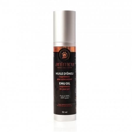 100%  Pure Emu Oil Animeu   External and internal use   50 ml