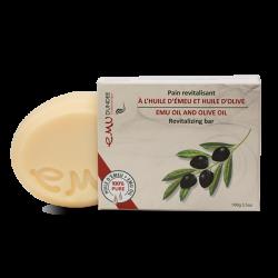 Savon huile d'émeu et huile d'olive